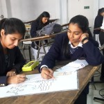 SRMS CET Bareilly organized a SPLASH Painting competition Image1
