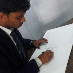 SRMS CET Bareilly organized a SPLASH Painting competition Image3