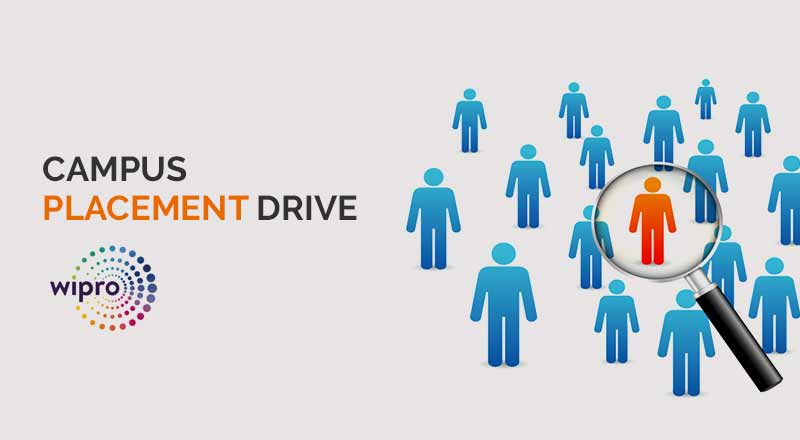 Campus Placement Drive- Wipro