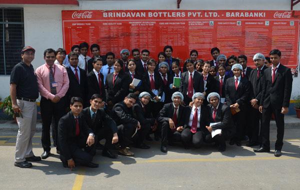Industrial Visit at Coca – Cola, Barabanki