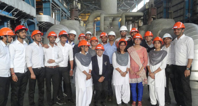 Students of Srmscet Get Invaluable Exposure During Their Industrial Trips to Reliance Power Plant