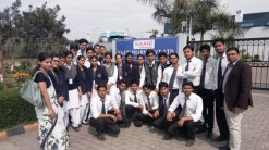 STUDENTS OF SRMSCET MAKE A INDUSTRIAL VISIT TO NAARI PHARMA PRIVATE LIMITED ON 2ND MARCH, 2017