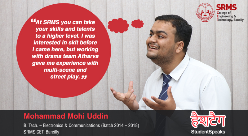 Mohammad Mohi Uddin tells us how participating in different activities boosts his confidence