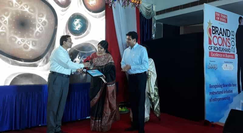 Brand Icons Rohilkhand 2018 Award