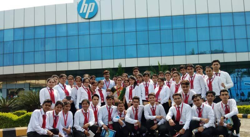 SRMS CET Industry Visit to HP (Hewlett-Packard) India Sales Pvt. Ltd., Pantnagar