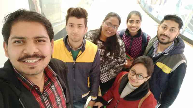 A Winter live project with SRMS CET MBA Students