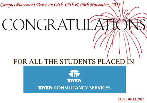 Campus Placement in Tata Consultancy Services