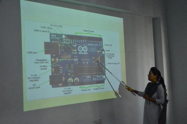 Workshop on Industrial Robotics Using Arduino