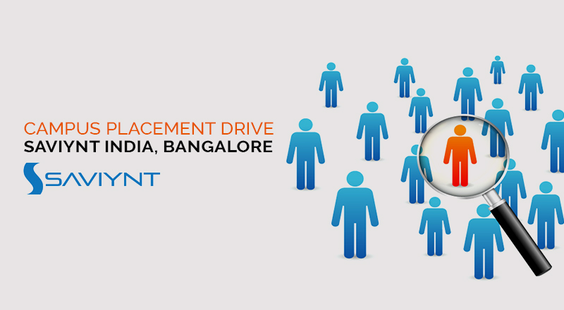 Campus Placement Drive of  Saviynt India, Bangalore
