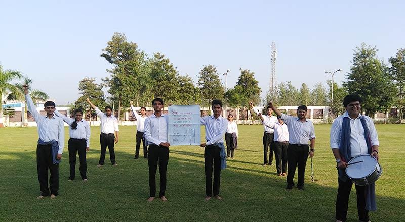Street Play on Eve of Gandhi Jayanti 2