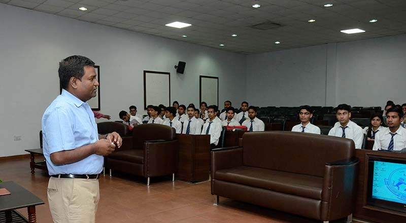 Guidance Session by Mr. Pankaj Srivastava SRMS Alumni