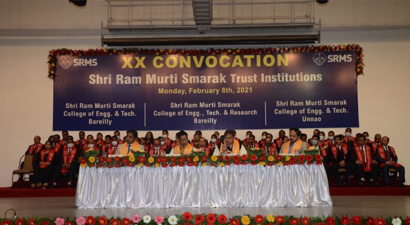 XX Convocation Day held at SRMS Institutions