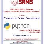 Workshop on Programming in Python 3