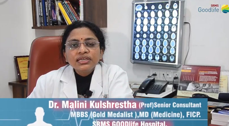 Dr. (Prof.) Malini Kulshreshtha sharing about the importance of Geriatric Care in India