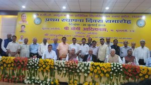 SHRI-DEV-MURTI-JI-CHAIRMAN-SRMSCET-BAREILLY-FELICITATED-ON-FOUNDATION-DAY-IMAGE-2